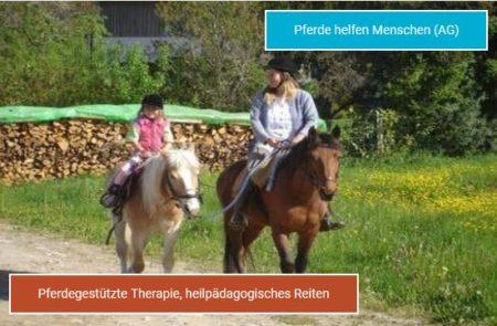 pferde helfen